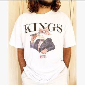 AKOO Kings Fox Boss Cigar Tee T-Shirt